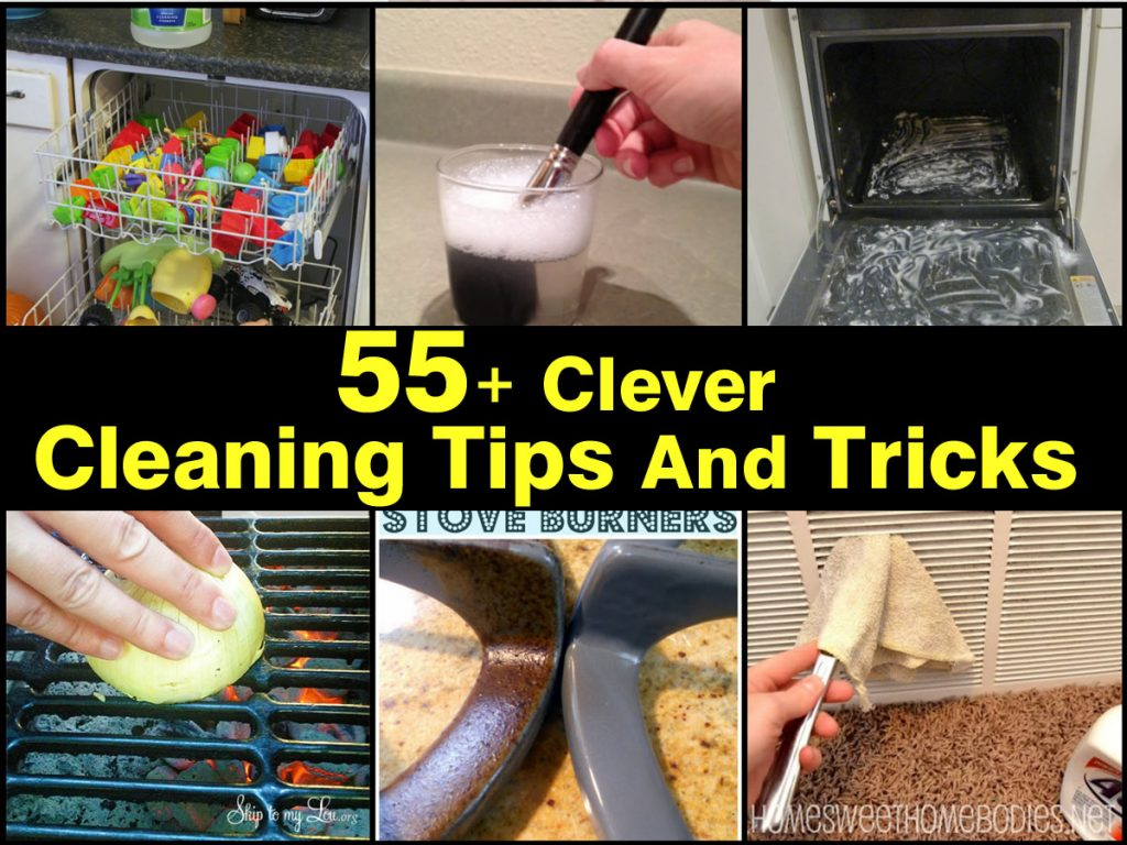 clever cleaning tips and tricks