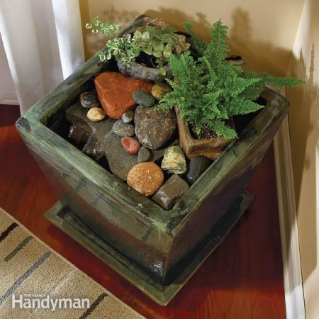 20 impressive diy water feature and garden pond ideas - Indoor water feature ideas ...