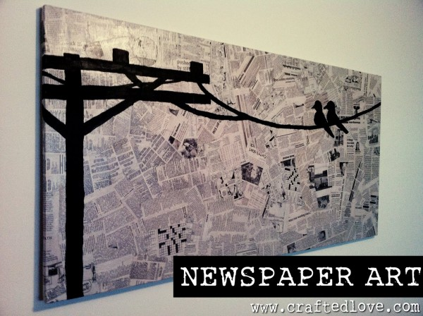 17 Beautiful Diy Ideas For Old Newspapers