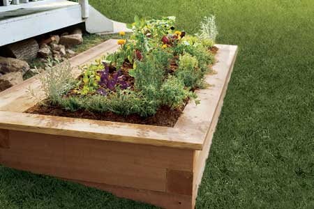 make raised garden bed 2