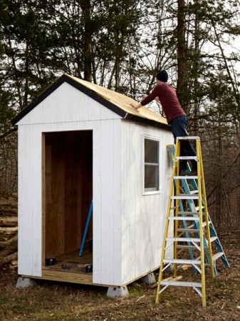 How To Build A Storage Shed From Scratch - Woodworking