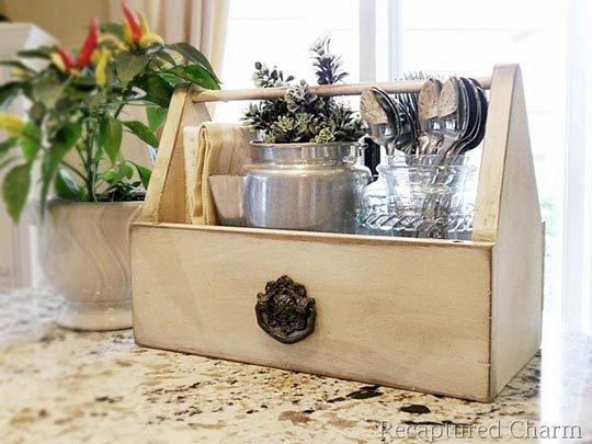 Decorative Kitchen Caddy