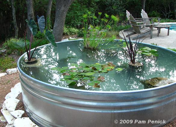 20 impressive diy water feature and garden pond ideas for Container pond