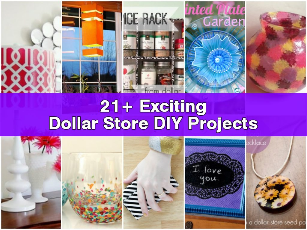 diy dollar store projects 21 exciting dollar store diy projects