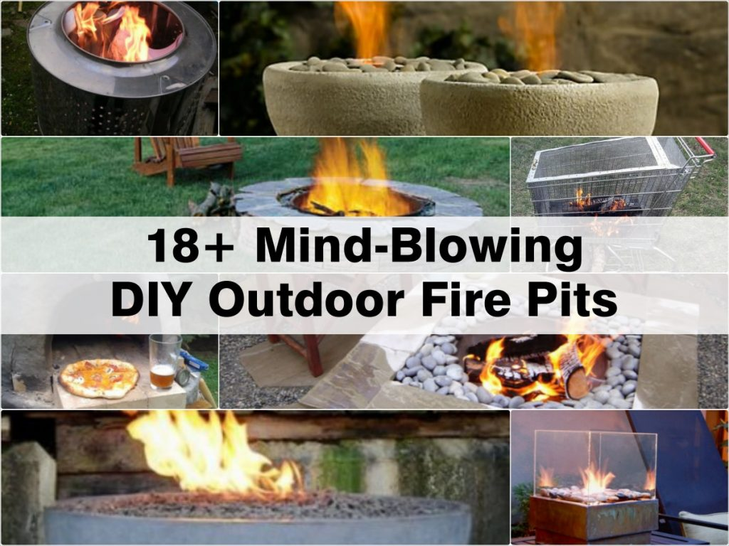 18 mind blowing diy outdoor fire pits. Black Bedroom Furniture Sets. Home Design Ideas