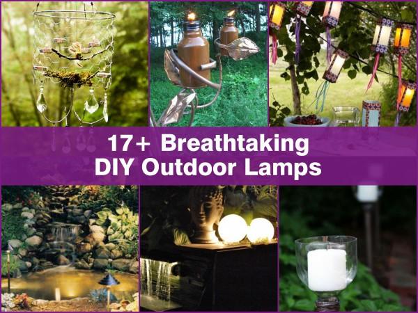 diy outdoor lamps1