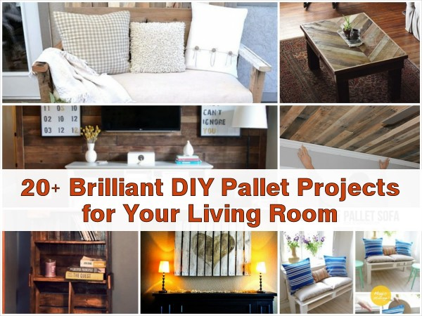 20 Brilliant Diy Pallet Projects For Your Living Room