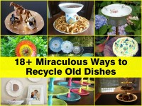 18+ Miraculous Ways to Recycle Old Dishes