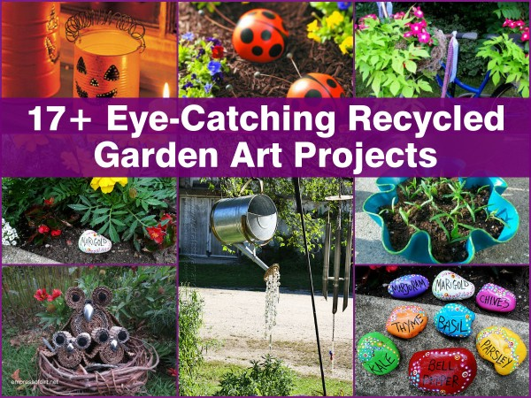 how to make recycling projects